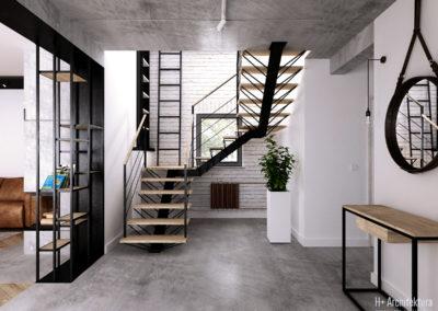 Krajewskiego | Schody | H+ architektura