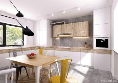 Krajewskiego | Kuchnia | H+ architektura