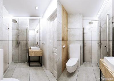 Krajewskiego | Łazienka | H+ architektura