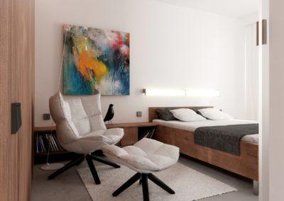 Potokowa | Sypialnia | H+ Architektura