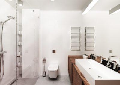 Potokowa | Łazienka | H+ Architektura