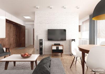 Poturzyńska   Salon   H+ Architektura