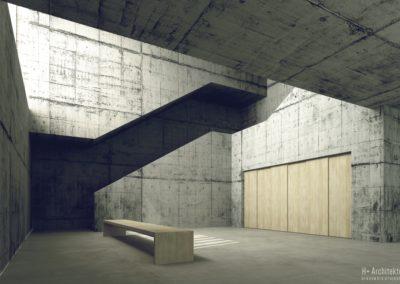Seminarium | Foyer | H+ Architektura