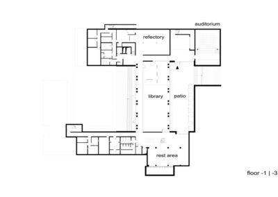 Seminarium | Rzut -1 | H+ Architektura