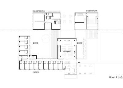 Seminarium | Rzut 1 | H+ Architektura