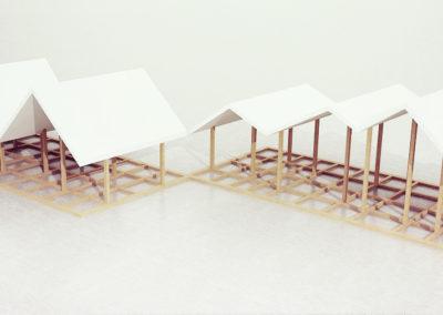 Pawilon wystawowy | Konstrukcja | H+ Architektura