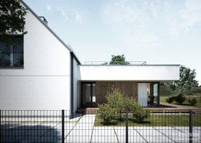 Dom PS | Elewacja | H+ Architektura