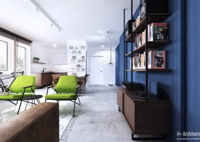 Chodźki | Salon | H+ Architektura