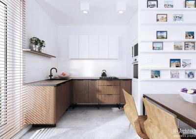 Chodźki | Kuchnia | H+ Architektura