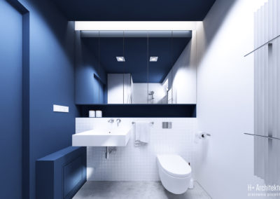 Chodźki | Łazienka | H+ Architektura