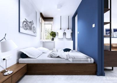 Chodźki | Sypialnia | H+ Architektura