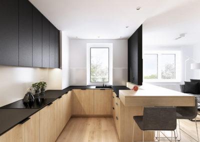 Konwaliowa 02 | Kuchnia | H+ Architektura