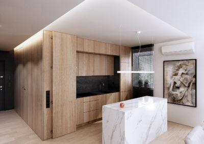 Koralowa | Kuchnia | H+ architektura