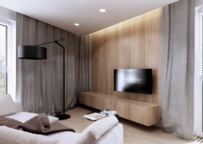Koralowa | Salon | H+ architektura