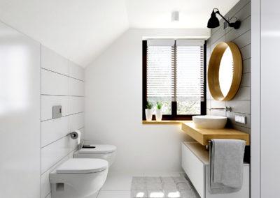 Łazienki AP | Łazienka duża | H+ Architektura