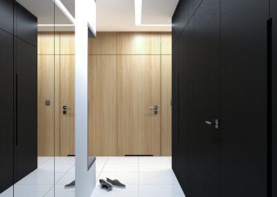 Strzeszewskiego | Hol | H+ architektura