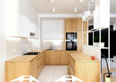 Strzeszewskiego | Kuchnia | H+ architektura