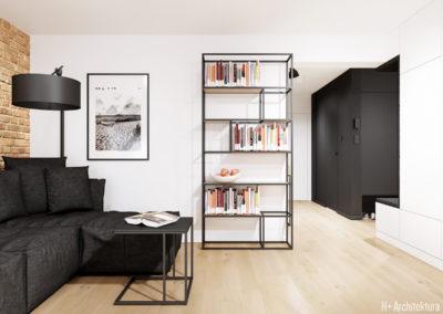 Śmiałego | Salon | H+ architektura