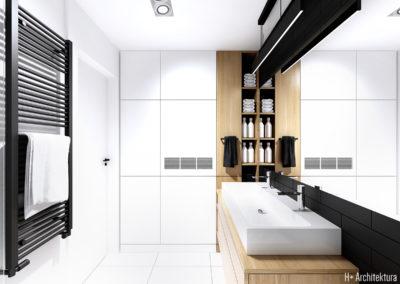Śmiałego | Łazienka | H+ architektura