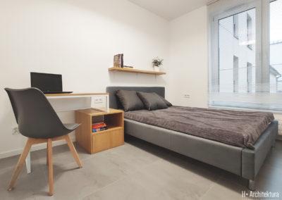 Lubartowska for rent 01 | Sypialnia | H+ architektura